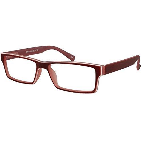 I NEED YOU Lesebrille Capri SPH:+2,00 Farbe:Rot