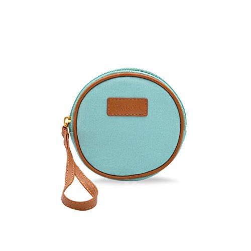 Zaini donna/Piccolo pacchetto rotondo/Carina portamonete/Key/Mini portamonete-A