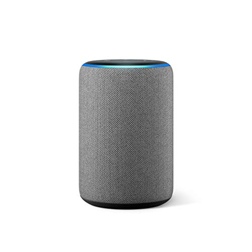 Nuevo Amazon Echo (3.ª generación) - Altavoz inteligente con Alexa - tela de color gris oscuro