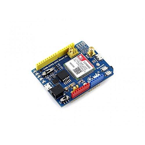 Angelelec DIY Open Sources Sensors, GSM/GPRS/GPS Shield (B), GSM/GPRS/GPS Shield (B) is...