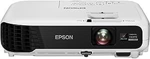 Epson EB-U04 Heimkino 3LCD-Projektor (Full HD 1080p, 3.000 Lumen Weiß & Farbhelligkeit, 15.000:1 Kontrast, 2x HDMI (1x MHL), Lampenlebensdauer bis zu 10.000 h im Sparmodus) weiß