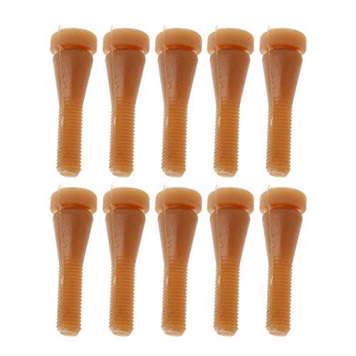 Xuniu 10 Stücke Geflügel Zupfen Finger Haarentfernung Maschine Klebestift Huhn Pluckers -