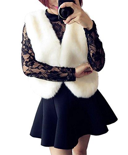 Vlunt - Blouson - Femme Weiß