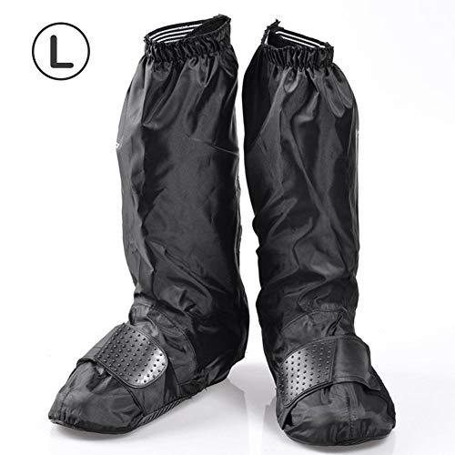 egen Schuhe Stiefel Cover wasserdicht Motorrad Gear Schuhe Covers Wiederverwendbare Anti-Rutsch Regen Schnee Überschuhe ()