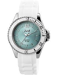 Just Watches Damen-Armbanduhr Analog Quarz Kautschuk 48-S3863-BL