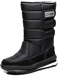 Unbekannt Femme Bottines pour femme bottes Boots Schnürstiefel - Noir - Schwarz Outdoor,