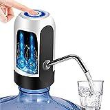 YOMYM Dispensador de Agua, Bomba de Agua de Carga USB, extraíble, Apto para Usar en Agua embotellada.