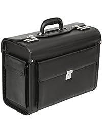 Tassia - Pilotenkoffer - Platz für Akten & Laptop - geeignet für Business, Reisen, Handgepäck