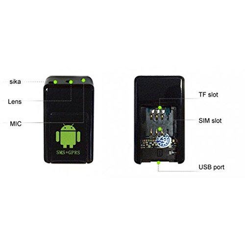 cimice Leuchte mit Slot SIM–SMS/GPRS–Registrierung audio/Video–setik (Video-registrierung)