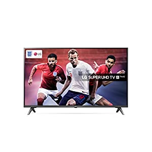 LG 49SK8000PLB Super UHD 4K HDR Premium Smart LED TV with Freeview Play (2018 Model) – Brilliant Titan
