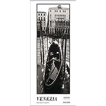 VENEZIA Black & White by Björn-Eric Kohnen - Panorama Zeitlos Kalender - Venedig in schwarz weiss - 44 x 100 cm
