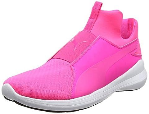Puma Damen Rebel Mid Wns Sneaker, Pink (Knockout Pink-Knockout Pink-Puma White 03), 40 EU