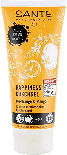 Sante Happiness Gel Douche Bio Orange & Mangue (200 ml)