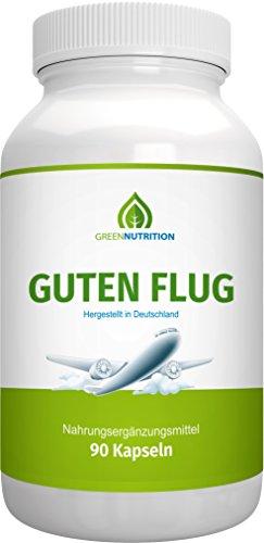 Guten Flug | von Green Nutrition | Weißdornextrakt Hochdosiert | 90 Kapseln