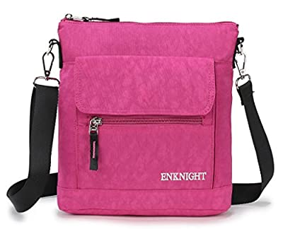 ENKNIGHT Nylon Crossbody Purse Bag for Women Travel Shoulder handbags