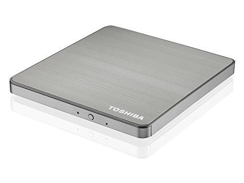 Toshiba Portables USB 3.0 Super Multi Laufwerk (DL), Stahlgrau Metallic - für Alle Modelle der Z-Serie
