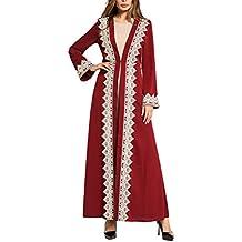 Zhuhaijq Musulmana Vestido Elegante Fiesta Mujeres Arabes Robe Vestido Cuello Redondo Vestir Grande Talla Long Sleeve