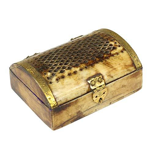 Oriental Galerie Antike Schmuckschatulle Dose Schmuckkasten gebraucht kaufen  Wird an jeden Ort in Deutschland