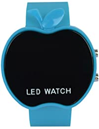 VITREND (R-TM) Blue Apple Style Led Watches For Boys And Girls ( Sent As Per Available Colour)