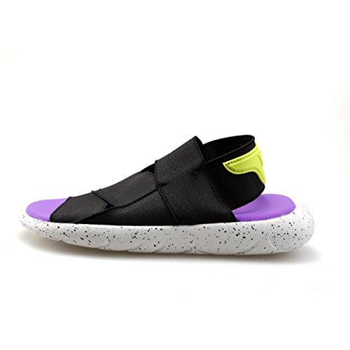 LYZGF Hommes Jeunes été Décontracté Sandales Fashion Beach Slipper Purple