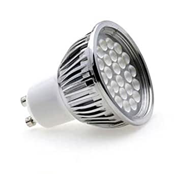 lumilife 5 watt gu10 led bulb wide beam angle cool white lighting. Black Bedroom Furniture Sets. Home Design Ideas