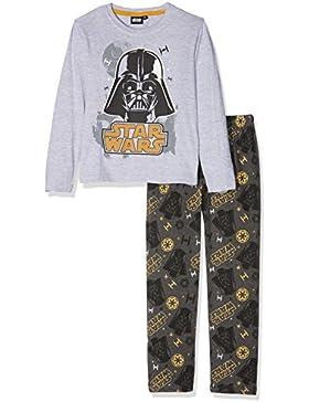 Star Wars-The Clone Wars Darth Vader Jedi Yoda Chicos Pijama - Gris