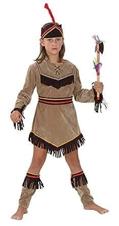 Indian Girl - enfants Costume de déguisement - XL - 146cm à 159cm