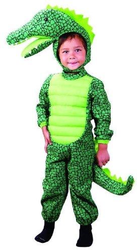 Kinder Kostüm Krokodil - Foxxeo Krokodilkostüm für Kinder Krokodil Kostüm Tierkostüm Tier 98 - 116 Größe 116