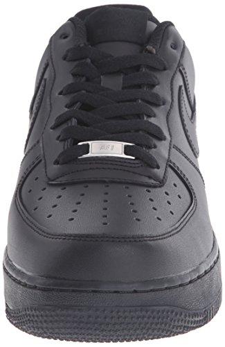 Nike 315122 001, Chaussures de Basketball Homme Noir (Black/Black 001)