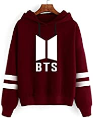 BTS Album Kpop Long Sleeve Cropped Hoodies Autumn Sweatshirt Women Men Hooded Pullover Crop Tops Winter Sweats