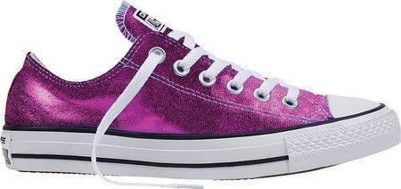 Converse Unisex Chuck Taylor All Star Low Top Magenta Glow/Black/White Sneakers - Medium/7 B(M) US ('x6'7)