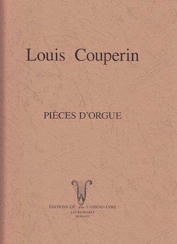 L'OISEAU LYRE COUPERIN LOUIS - PIECES D'ORGUE Klassische Noten Orgel
