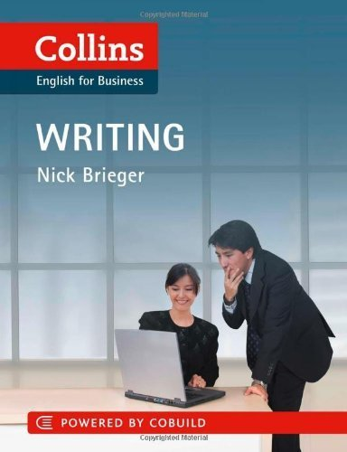 Collins English for Business: Writing by Brieger, Nick (2011) Paperback