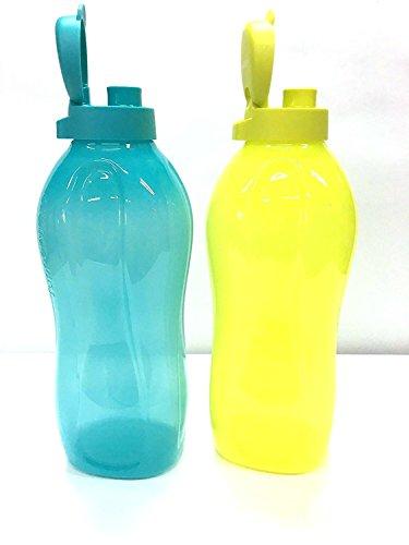 tupperware-2liter-fliptop-bottiglie-d-acqua-fredda-acqua-dispenser-set-di-2