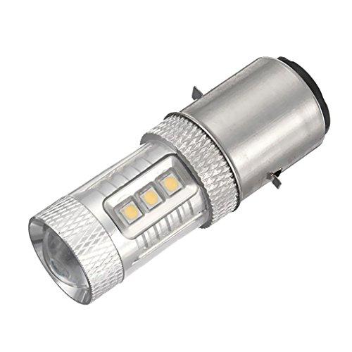 Shiwaki Lampadina BA20D H6 12V LED Alto Basso Luce Faro Anti Nebbia Per Auto Moto