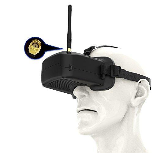Preisvergleich Produktbild Robotrc FPV Brille,  F03 Mini FPV Goggles Headset 40CH 3, 0 Zoll 5.8GHZ für Drohne Quadcopter FPV Racing