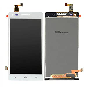 Display LCD Komplett Einheit Touchscreen für Huawei Ascend G6 Reparatur Weiß + Werkzeug Opening Tool