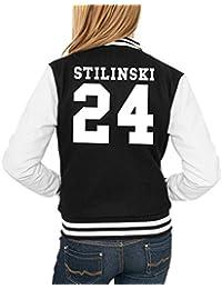 Stilinski 24 College Vest Girls Black