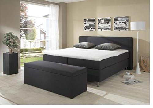 Breckle Boxspringbett 180 x 200 cm Cozy Box Mero Easy Big Bonnell Topper Gel Standard