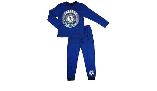 Jungen Chelsea Football Club Schlafanz/üg Nachtw/äsche Alter 4-12 Jahre