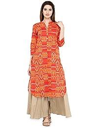 Varanga Multi Pure Cotton Printed Kurta KFF-VAR21503