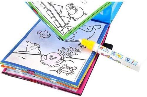 Premium Qualité Magique Dessin De L'Eau Livre À Colorier Doodle Magique Stylo Animaux Peinture Comme le montrent les photos Li-ly
