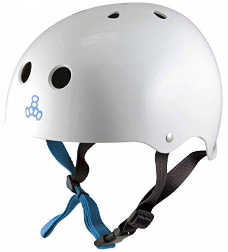 Triple8 Water HALO White Rubber CE Helmet… | 00604352003780