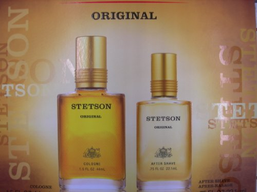 Stetson by Coty for Men 2 Piece Set Includes: 1.5 oz Cologne Splash + 0.75 oz After Shave Splash by Stetson