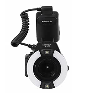 Yongnuo YN-14M macro ring flash/ flash annulaire pour Canon, Olympus, Nikon et Pentax etc+ WINGONEER diffusur