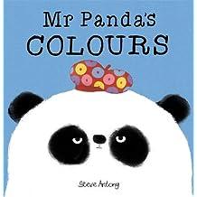 Mr Panda's Colours Board Book