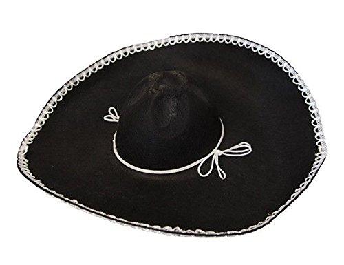 DISBACANAL Sombrero Mejicano Fieltro - Disfraceslandia c23182926ec