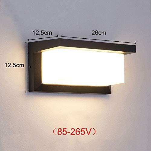 AMY Bewegungssensor Licht Im Freien, 8W LED Sicherheit Lichter IP65 Wasserdicht Flutlicht Für Eingänge Haustür Hof TV Wand Sofa Garten Nacht -