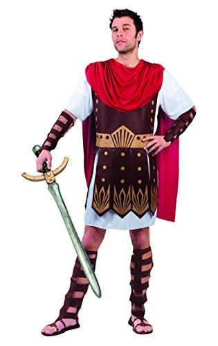 Boland B.V. Romain Gladiator pour Homme Blanc Déguisement Centurion Guerrier Déguisement Adulte