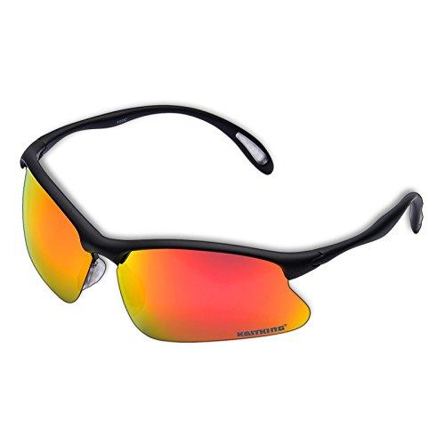 KastKing Polarisierte Sportbrille Serie , 99% Sonnenschutz - Leichtes Gewicht - High-tech HD-Linsen , Ideal für Autofahren , Reiten , Angeln , Radfahren